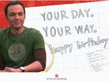 Free Big Bang theory Birthday Cards the Perfect Birthday the Big Bang theory Happy