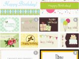 Free Birthday Card Printouts 8 Free Printable Happy Birthday Cards the Frugal Female