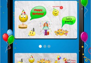 Free Birthday Cards App For Android Animated 3d Emoji Wishes Emoticons