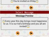 Free Birthday Cards App for android Kids Birthday Invitation Maker android Apps On Google Play
