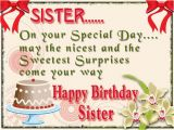 Free Birthday Cards for A Sister Happy Birthday Wishes for Sister Sayingimages Com