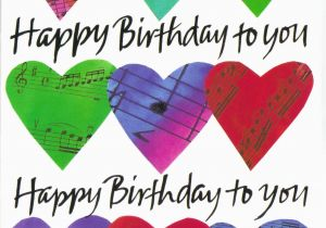 Free Birthday Cards For Friends With Music Happy To You Hearts Pictures Photos And Images