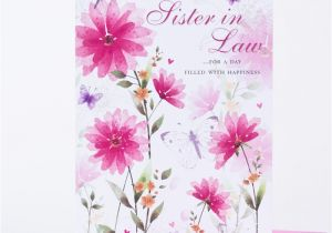 Free Birthday Cards For Sister In Law Card Butterfly Print Only 59p