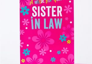 Free Birthday Cards For Sister In Law Card Only 29p
