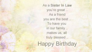 Free Birthday Cards for Sister In Law Special Sister In Law Quotes Quotesgram