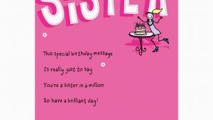 Free Birthday Cards for Sisters Birthday Cards for Sister Free Printables Pinterest