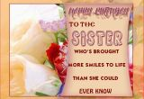 Free Birthday Cards for Sisters Imageslist Com Happy Birthday Sister Part 3