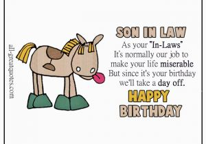 Free Birthday Cards For Son In Law Happy Wishes Greetings Short