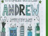 Free Birthday Cards for son In Law Personalised son In Law Birthday Card by Claire sowden
