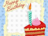 Free Birthday Cards for Texting Template for Happy Birthday Card with Place for Text