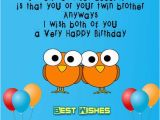 Free Birthday Cards for Twins Birthday Wishes for Twins Cards Wishes