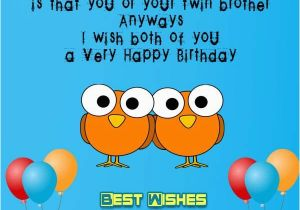 Free Birthday Cards For Twins Wishes
