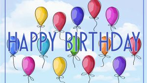 Free Birthday Cards Images and Graphics Free Vector Illustration Of A Happy Birthday Greeting Card