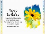 Free Birthday Facebook Cards I Hope This Birthday Greeting Brings Happiness to You