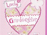 Free Birthday Greeting Cards for Granddaughter Heart butterfly Granddaughter Birthday Card Karenza