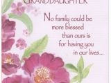 Free Birthday Greeting Cards for Granddaughter Pink Flowers with Glitter Z Fold Granddaughter Birthday