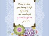Free Birthday Greeting Cards for Granddaughter Wonderful Granddaughter Birthday Card Greeting Cards