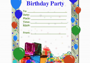 Free Birthday Invitation Maker with Photo Birthday Invites Free Birthday Invitation Maker Images