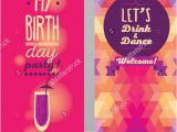 Free Birthday Invitation Templates for Adults 15 Adult Birthday Invitation Templates Psd Vector Eps