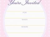 Free Birthday Party Invitation Templates Free Printable Golden Unicorn Birthday Invitation Template