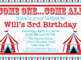 Free Circus Birthday Invitations Printables 6 Best Images Of Circus Ticket Template Printable Blank