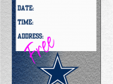 Free Dallas Cowboys Birthday Card Free Printable Dallas Cowboys Birthday Invitations Jin S