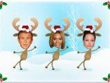 Free Dancing Birthday Cards with Faces Ecards Dancing Xmas Deer