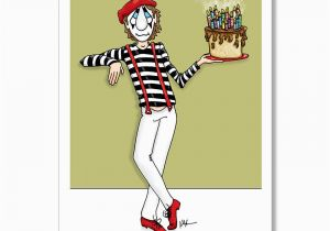 Free E Birthday Cards For Adults Funny Card Mime Adult