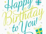 Free E Birthday Cards for Her Free Printable Happy Birthday to You Greeting Card Free E