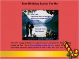 Free E Birthday Cards for Her Wish Your Mom with Free Birthday Ecards for Her
