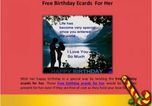 Free E Birthday Cards For Her Wish Your Mom With Ecards