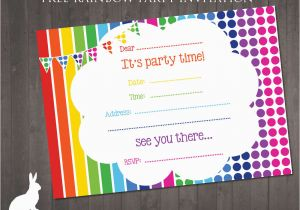 Free E Invitations For Birthdays Birthday Party Printable Cards
