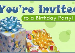 Free Ecard Birthday Invitations Party Email Personalized