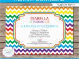 Free Editable Birthday Invitations Rainbow Party Invitations Template Birthday Party