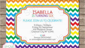Free Editable Birthday Invitations Rainbow Party Invitations Template Birthday Party