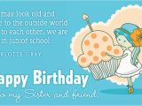 Free Email Birthday Cards for Sister Free Birthday Sister Ecard Email Free Personalized
