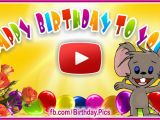 Free Email Birthday Cards Funny with Music Musical Free Birthday Cards