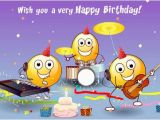 Free Email Birthday Cards Funny with Music Wish You A Very Happy Birthday Pictures Photos and