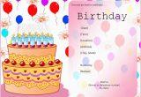 Free Evites Birthday Invitations Free Birthday Party Invitation Templates Free Invitation