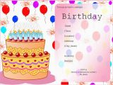 Free Evites Birthday Invitations Free Birthday Party Invitation Templates Free Invitation
