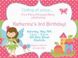 Free Evites Birthday Invitations Free Fairy Birthday Party Invitations Home Party Ideas