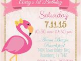 Free Flamingo Birthday Invitations Pink Flamingo Pool Party Birthday Invitation Printable File