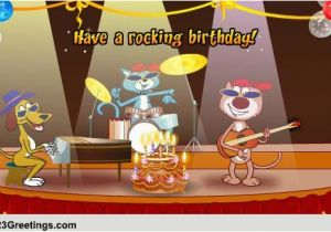 Free Funny Animated Birthday Cards With Music Songs Wishes Greeting