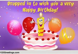 Free Funny Animated Birthday Cards With Music Dropping In A Wish Wishes Ecards