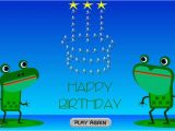 Free Funny Singing Email Birthday Cards Funny Happy Birthday Singing Frogs E Cards Ladybugecards