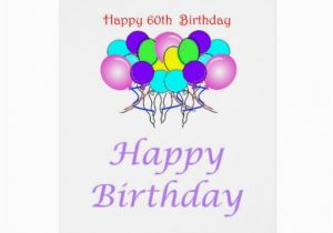 Free Happy 60th Birthday Cards Cake Ideas And Designs