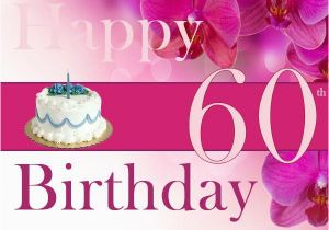 Free Happy 60th Birthday Cards Easyday