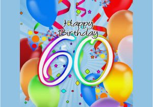 Free Happy 60th Birthday Cards Printable Premium Templates