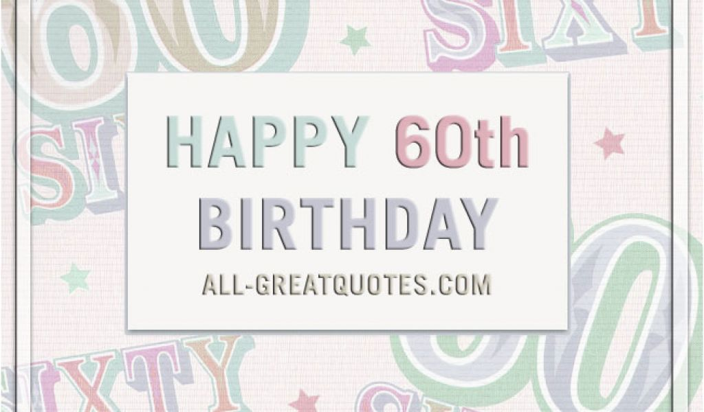 Free Happy 60th Birthday Cards Share