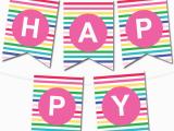 Free Happy Birthday Banner Printable Pdf Free Printable Happy Birthday Signs Printable 360 Degree